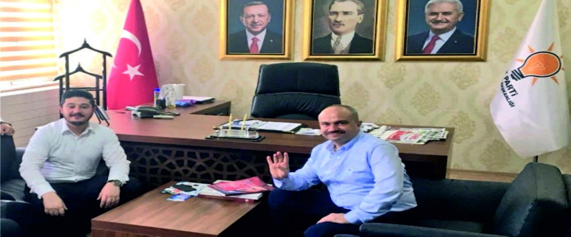 İYİ Partili Vekil Adayından AK Parti'ye Ziyaret