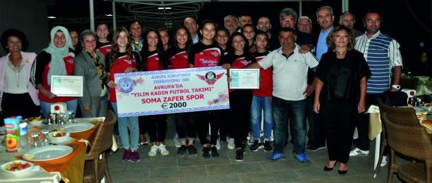 Yılın Kadın Futbol Takımı Seçildi