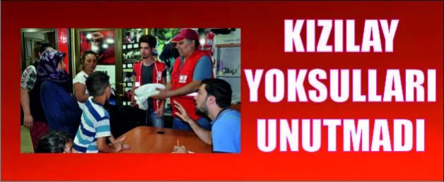 KIZILAY YOKSULLARI UNUTMADI