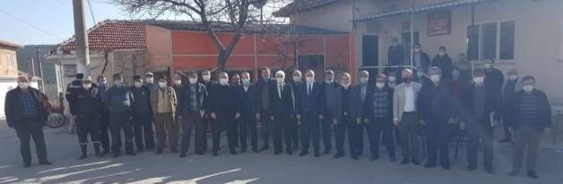 MHP GRUP BAŞKANVEKİLİ AKÇAY SOMA'DA HER KESİMİ DİNLEDİ