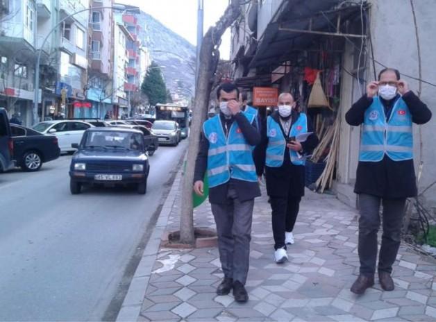 VAKA SAYILARININ ARDINDAN SOMA'DA DENETİMLER SIKLAŞTIRILDI