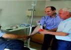 Kaymakam ve Başkanlardan Hastalara Ziyaret