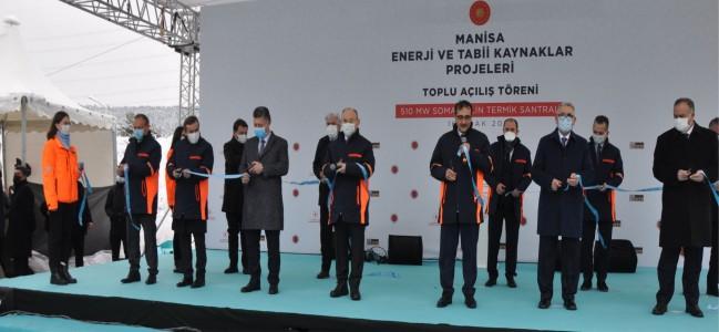 Soma Kolin Termik Santrali Törenle Açıldı