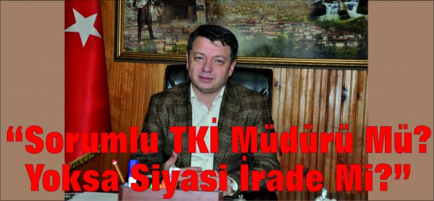 """Sorumlu TKİ Müdürü Mü? Yoksa Siyasi İrade Mi?"""
