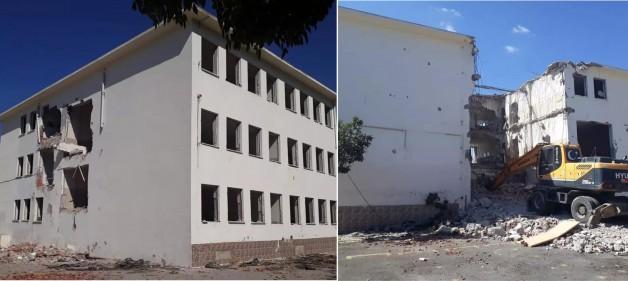Mehmet Akif Ersoy İlkokulu Yıkılıyor