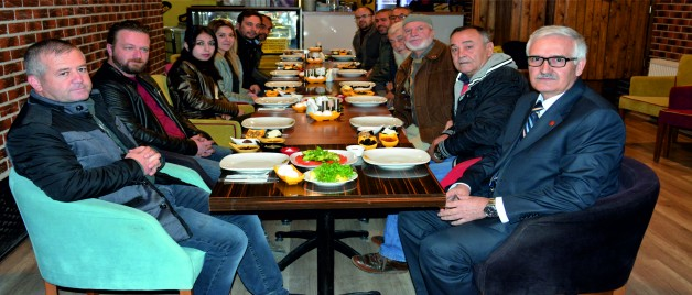 Saadet Partisi Gazetecilerle Buluştu