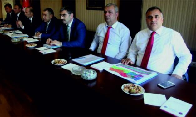 Başkanlar kurulu Ankara'da toplandı