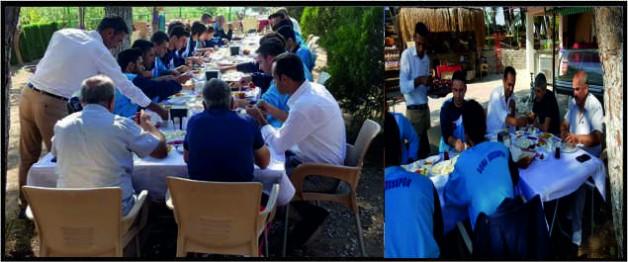 Yırcalı Aile Kır Bahçesi Soma Sotesspor'u konuk etti