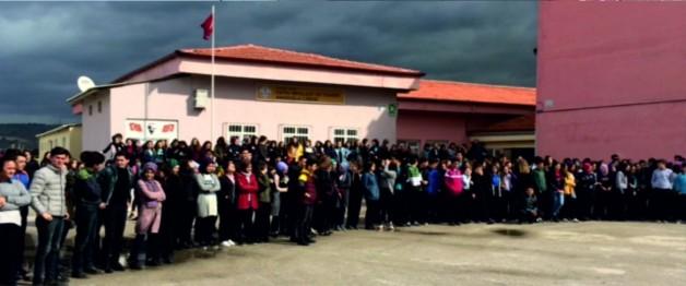 Fatih'in Öğrencilerinden Yangın Tatbikatı