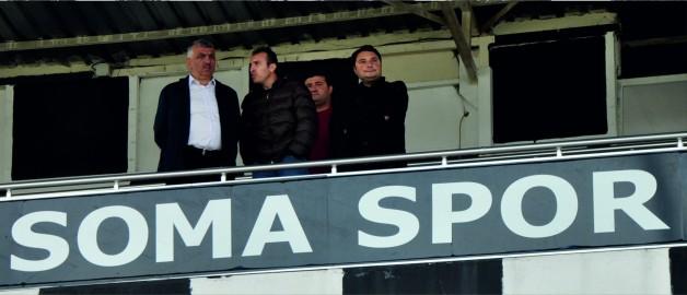 YENİ BAŞKAN SOMASPOR'U YALNIZ BIRAKMADI