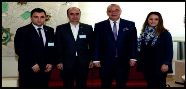 Soma Ticaret Odası'ndan Başkan Ergün'e Ziyaret